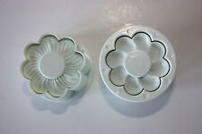 Flower Cookie Cutters, Set of 2 Double Sided Cutters, Sugarcraft Cake Decorating