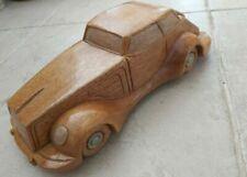 Voitures miniatures en bois