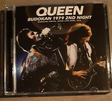 QUEEN - BUDOKAN Japan Live 1979 Rare pressed 2 cd Wardour Bad Company Pink Floyd