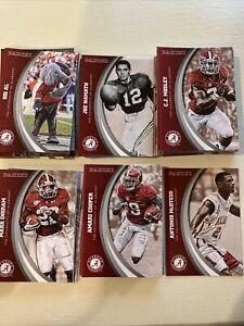 2015 Panini Alabama Team Collection Full Set Of 80 Cards