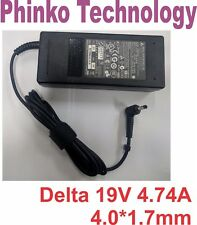 NEW Genuine AC Adapter Charger for Delta 90W Q480S I7 D1 ADP-90CD DB 4.0*1.7mm