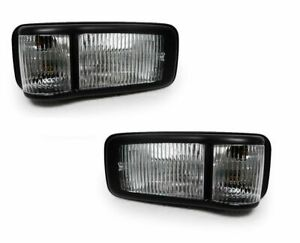 FITS GMC W SERIES 3500 4500 5500 2008-2009 TRUCK SIDE MARKER PARK LIGHTS PAIR