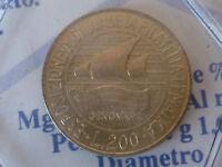 200 LIRE DAL 1977 AL 2001,DA SERIE DIVISIONALE O ROTOLINO ,FDC