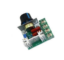 1PCS 220V 2000W Speed Controller SCR Voltage Regulator Dimming Dimmers Thermosta