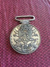 Sterling Silver Persian Coin Pendant - Taj Mahal Swords Knowledge Scales Justice