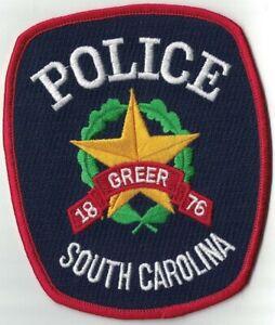 Greer Police Patch South Carolina SC