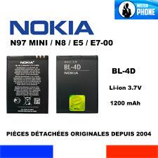 BATTERIE NEUVE ORIGINALE NOKIA BL4D BL-4D N97 MINI N8 E7-00 E5 1200mah ORIGINE