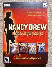 Nancy Drew Ultimate Dare New Sealed - 4 PC Adventure Games