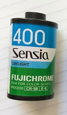 Fujichrome Sensia 400 35mm Roll Color Slide Film. Long out of date