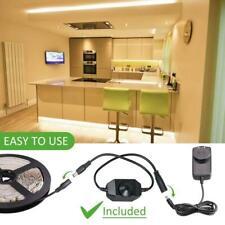 5m 2835 LED tira del gabinete bajo Kit de Iluminación Luz Armario Contador Cocina Estante
