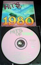 Hits of 1980 VERY RARE CD Toto Boz Scaggs Paul Davis Randy Meisner Jimmy Hall