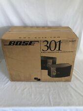 BOSE 301 Series V Speakers (Pair). LIGHT CHERRY .