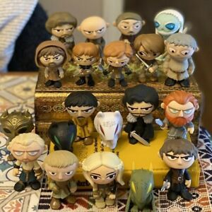 Game of Thrones GoT Mystery Minis Lot of 20 Tormund Jaime Oberyn Ghost Robb Jon