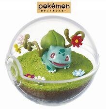 RE-MENT Pokemon Terrarium Collection Pocket Monster Figure Bulbasaur Fushigidane