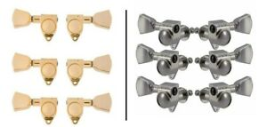 Grover Rotomatic Tuners / Machine Heads - 102 - Chrome / Gold - RRP £60! - UK