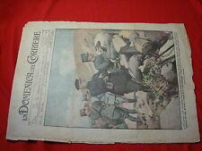 La domenica del corriere 1917 n.34 poincarè re d'italia sovrano