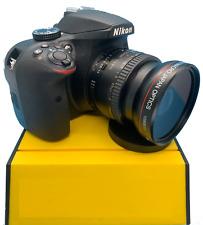 HD  WIDE ANGLE FISHEYE LENS + MACRO LENS FOR Nikon AF-S NIKKOR 50mm f/1.4G Lens
