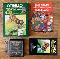 Vintage ATARI 2600 OTHELLO 1981 CIB Game CARTRIDGE BOX Manual 100% COMPLETE