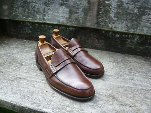 CHURCH'S LOAFERS – BROWN – UK 10 – PEMBREY – EXCELLENT CONDITION