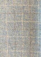 "Blue Wool Fabric for Rug Hooking 1/4 yard 18"" x 29"""