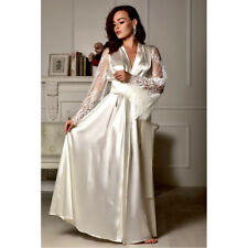 Women Sexy Sleepwear Nightgown Satin Silk Babydoll Lace Robes Sleep Dress Skirt
