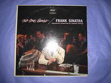 2 Frank Sinatra Lp's No One Cares Capitol W1221 & Put Your Dreams Away Columbia