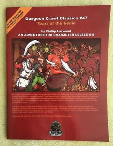 DCC #47 Dungeon Crawl Classics Tears Of The Genie Phillip Harwood Goodman Games