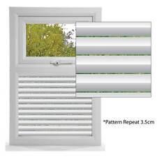 Etched Glass Effect Window Film, Modern Pattern Window Panel, Blind Effect Film