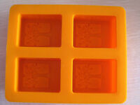 4-Tree Oblong Cake Mold Soap Mould Silicone Mold For Cookie Fimo Resin Craft