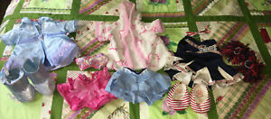 Build A Bear Girl Clothes Lot Disney Dress And Boot New England Patriots Cheer