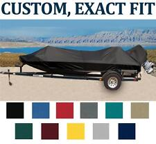 7OZ CUSTOM BOAT COVER HEWESCRAFT-WEST COAST 160 SPORTSMAN W/ANC ROL 2008-2017