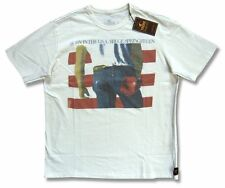 Bruce Springsteen Trunk LTD Born In The USA White Adult T Shirt New Official NWT