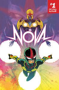 Nova # 1 Bd Livre 2017 - Marvel