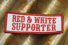 """Hells Angels Tucson, AZ USA - """" Red and White Supporter """"- Red & White Patch"""
