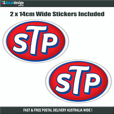 STP Oils Vintage Retro Decal Hot Rod Rat Rod Window Bumper Repro. Sticker #S027
