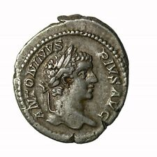 Caracalla AR Silver Denarius Rome Mint 208 AD Ancient Roman Coin RIC.179