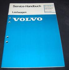 Werkstatthandbuch Volvo LKW Typ FL 612 - FL 617  Radaufhängung + Lenkung!