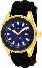 Invicta Pro Diver Model 26025 - Men's Watch Automatic 46mm, Black Nylon Strap.