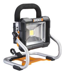 NEW WORX WX026L 20V Maxlithium Powershare Cordless LED Work Light 7350234