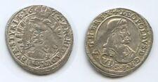 G5248 RDR Österreich 6 Kreuzer 1674 IAN Graz Steiermark TOP Leopold I.1658-1705