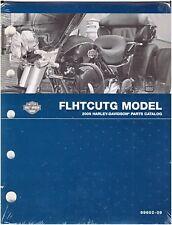 Harley Davidson New  2009 FLHTCUTG CVO   TRi-Glide Trike Parts Catalog