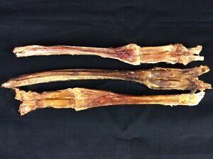 3 Genuine Elk Leg Sinew Tendon Dog Chew Deer Wapiti