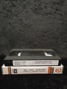SANFL 2002 GRAND FINAL Sturt V Central District VHS