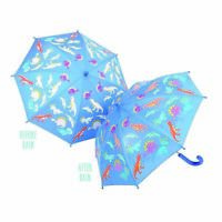 Kids Colour Change Umbrella by Floss & Rock - Dinosaurs **FREE DELIVERY**