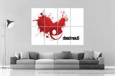 DJ DEADMAU5 MIXER Wall Art Poster Grand format A0 Large Print