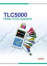 TLC5000 24Hrs ekg Holter Sistemi di analisi 12 canali ECG recorder SOFTWARE,CE