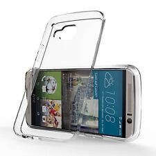 Ultra Slim Transparent Clear Silicone Gel Case Cover Skin for HTC One M9