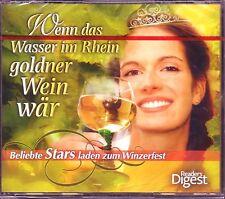 Wenn das Wasser im Rhein.. Reader's Digest   4 CD BOX  OVP