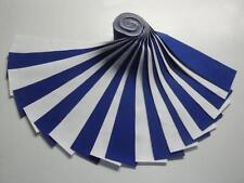 """Jelly Roll-Kona Cotton """"Blue & White""""-20-2-1/2"""" x WOF Strips-Kaufman"""