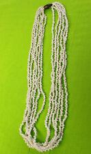 NEW Hawaiian Hawaii Wedding / Graduation Multi-Strand Mini Shell Lei Necklace